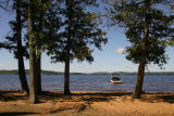 Raquette Lake - our home base.