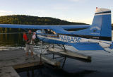 A sea-plane. Edward and I took a ride. It was magnificent!!! (no pictures from the air though)