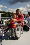 On the cruise ship. Adirondack, NY. August 2006.