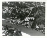 Aerial of Whitaker Bayou ca. 1954