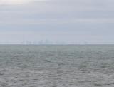 Toronto, 32 miles away across Lake Ontario (Canon G11)
