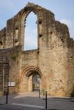 Ruines de léglise St Colomban détruite en 878 par les vikings