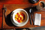 Morning Fruit & Balinese Coffee