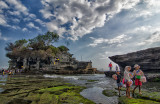 Afternoon at Tanah Lot