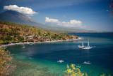 Jemeluk Bay & Mount Agung