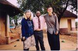 Me, Mr. Mathebula, and Jen at Jen's place