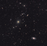 Galaxy group in Southern Virgo