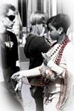 Red Mardi Gras Beads