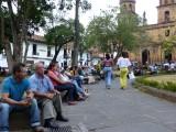 Plaza in San Gil