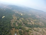 Paragliding, a few others below us