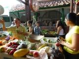 Market in Barichara