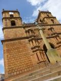 A church in Barichara