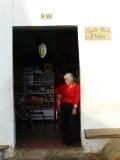 Shop lady in Villa de Leyva