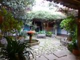 A courtyard in Villa de Leyva
