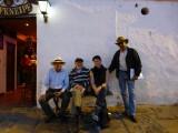Three funny men in Villa de Leyva