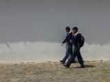 Schoolboys in Villa de Leyva