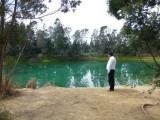 Pozos azules near Villa de Leyva