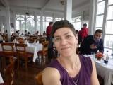 Posh restaurant on Monserrate