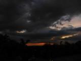 Armenia evening sky