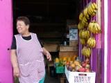Fruit lady in Salento