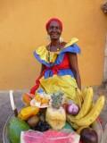 Kitsch fruit lady, Cartagena