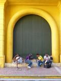 Men in Cartagena