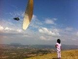 Paragliding stunts