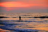 Fort Kochi Beach, Sunset and the fisherman, Fort Kochi, Kerala