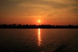 Sunset, Lake Vembanad, Vayalar, Kerala