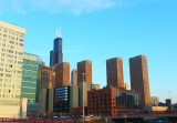 Presidential Towers and the Sears Tower, Chicago