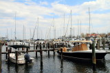 Boats in the pier, Annapolis, Maryland