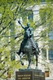 Simon Bolivar Memorial at the Interior Dept., Felix W de Weldon,  Washington D.C.