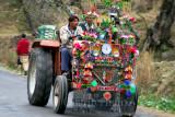 Tractor in Bhruhian