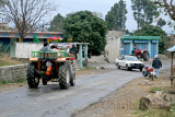 Traffic in Bhruhian