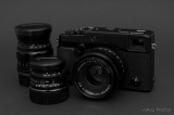 Fuji X-Pro1 with Fujinon 35/1.4 Lens, and Voigtlander 50/2.5 and 75/2.5 Lenses