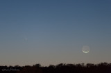 20130312 Comet Pan-STARRS and New Moon