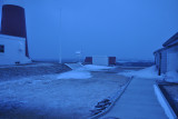 Slettnes in snow-storm