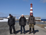 Kristoffer, Marinko and Andre out for a walk