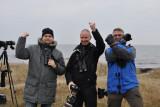 Andreas hultfelt, Lasse olsson och Stefan hage nyss kryssat Stensvala på Öland!