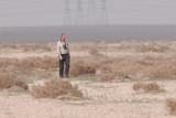 Carl hamilton lost in the desert..