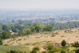 z_MG_2986 Smog over Longmont Colorado from road btwn Lyons  Boulder.jpg