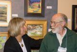 z_MG_3118 Bob Wands receives Mayor Choice award  congrats from Lynda Vogel of CAC.jpg
