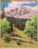 z_MG_3201 Bob Wands - Aspens to Longs Peak in morning - gallery light.jpg