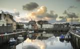 Castletown at dusk