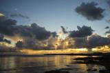 Sunset over Scarlett, Isle of Man