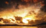 Stormy sunset over Douglas