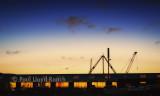 The Shipyard at night, Ramsey