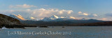 Looking across Loch Gairloch to the mountains of Wester Ross