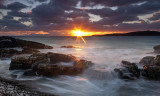 Big Sand Sunset near Gairloch