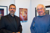Don and Irv at Opening Reception